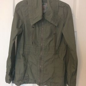 Decree army/military green utility jacket